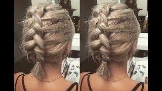 PEINADOS FÁCILES Para CABELLO CORTO O MEDIANO | Hairstyles For SHORT Hair