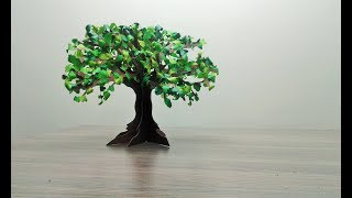 How to make paper tree
