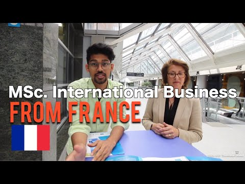 Master's Degrees in  International Business in France