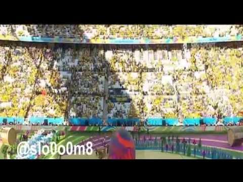 شاهد بالفيديو حفل افتتاح مونديال كأس العالم 2014 بالبرازيل