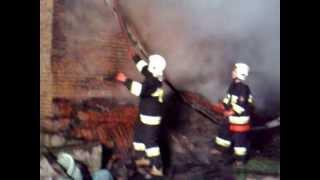 preview picture of video 'Pożar w Barwałdzie Dolnym'