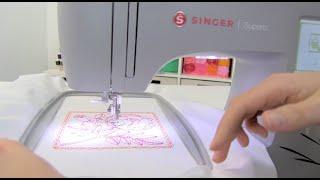 SINGER® SUPERB™ EM200 Owner's Class - Selecting & Stitching a Design