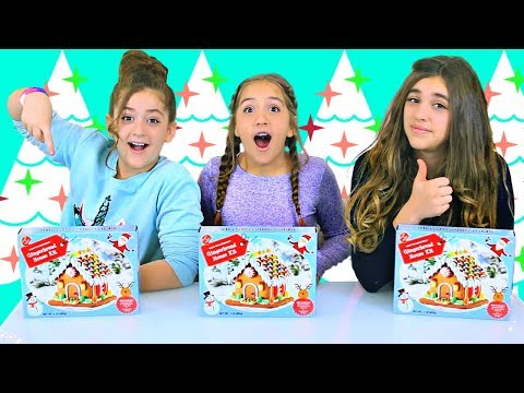 Triplet Telepathy Gingerbread House Challenge! Mp3