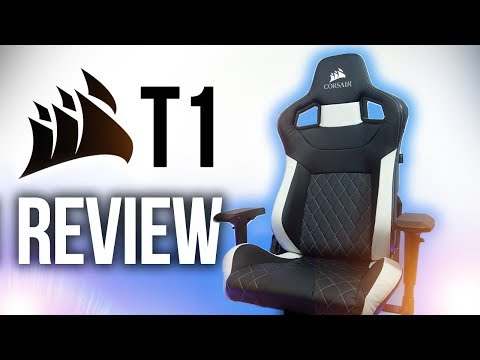NEW Corsair T1 Race Gaming Chair Review!