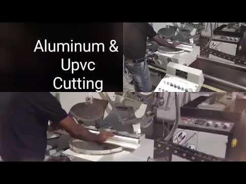 double head aluminium cutting machine