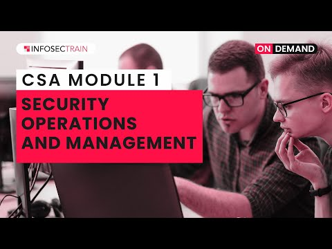 Security Operations and Management | Certified SOC Analyst (CSA ...