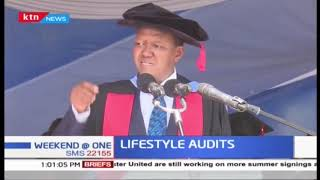DR. Alfred Mutua pushes for Lifestyle audit law to be formulated to bar corrupt leaders from polls