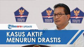 Satgas Penanganan Covid-19 Sebut Kasus Aktif Covid 19 di Indonesia Turun Signifikan