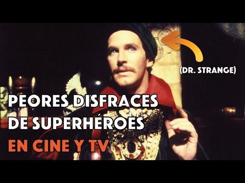 PEORES DISFRACES DE SUPERHÉROES EN CINE Y TV