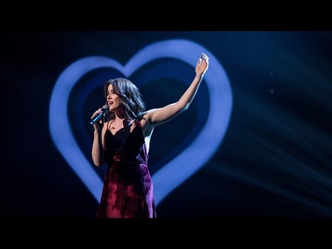 """Eurovision 2017 UK Entry: Lucie Jones performs """"Never Give Up On You"""" - Eurovision: You Decide - BBC"""