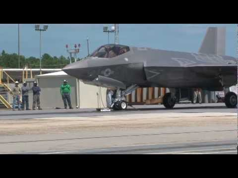 Watch The Screaming First Ever Catapult Launch Of The Killer F-35