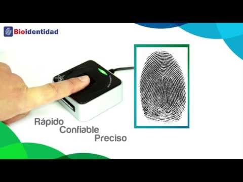 Bioidentidad RENIEC FS88H: Lector dactilar huella SUNARP OSIPTEL notaría salud brevete MTC banco