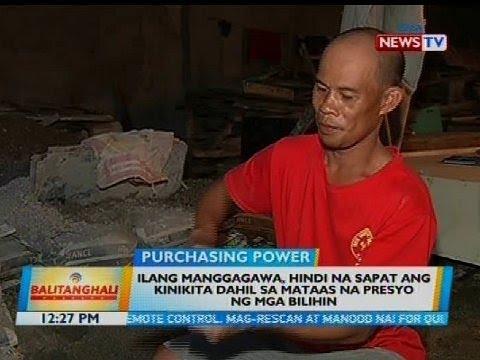 [GMA]  Ilang manggagawa, hindi na sapat ang kinikita dahil sa mataas na presyo ng mga bilihin