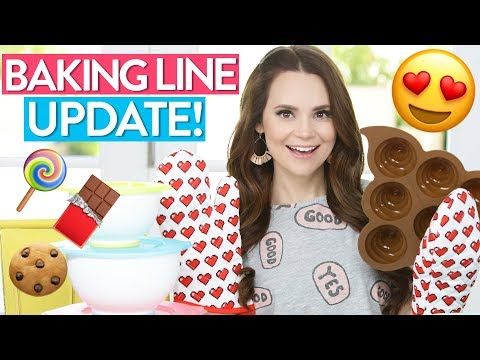 MY BAKING LINE IS HERE! (Pre-Order) + UPDATES