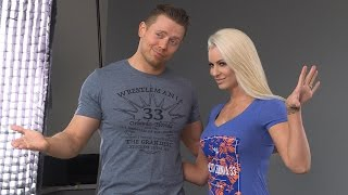 Superstars show off official WrestleMania apparel