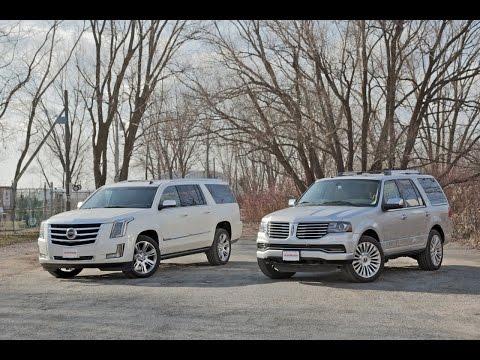 2015 Cadillac Escalade vs. 2015 Lincoln Navigator
