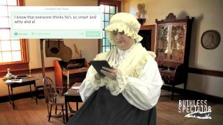 Tweets of The Rich & Famous: Martha Washington #9
