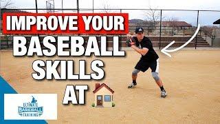How To: Improve Your Baseball Skills At Home! – (Baseball Drills)
