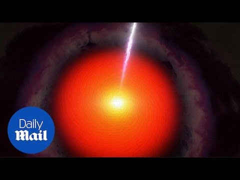 NASA traces mysterious 'Ghost Particle' back to massive black hole