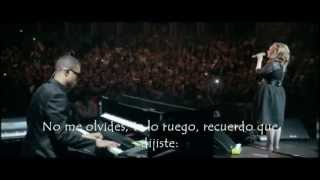 Adele Someone Like You live - Subtitulada Español