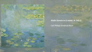 Violin Sonata in G minor, H. 542.5