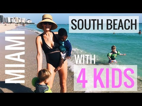 We Found PARADISE! SOUTH BEACH MIAMI, LITTLE HAVANNAH & CUBAN COFFEE // FULL-TIME travel family of 6