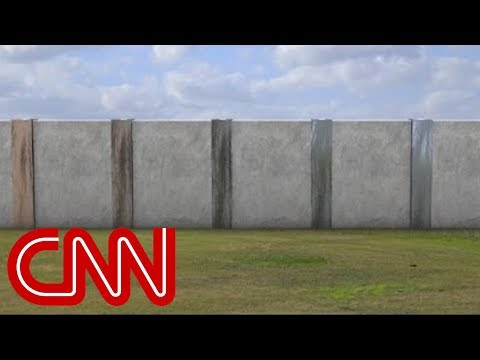 Prototype of the Great Wall Of Trump's Southern Border ? | The Crawdad Hole