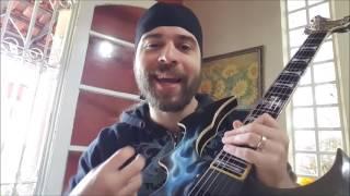 """A Guitarra """"Mata-Demônios"""" TESTADA!!"""