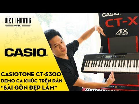 Demo ca khúc Sài Gòn Đẹp Lắm bằng đàn organ Casiotone CT-S300