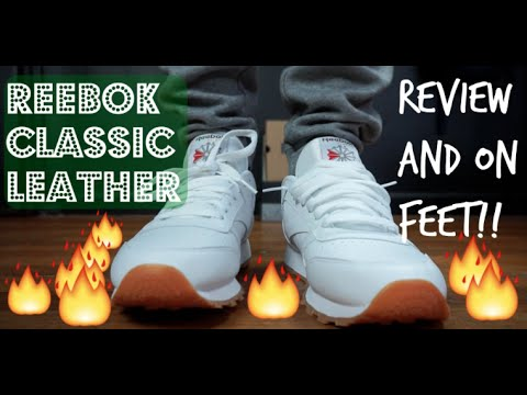 Reebok Classic White Leather Gum Review/On Feet 2016