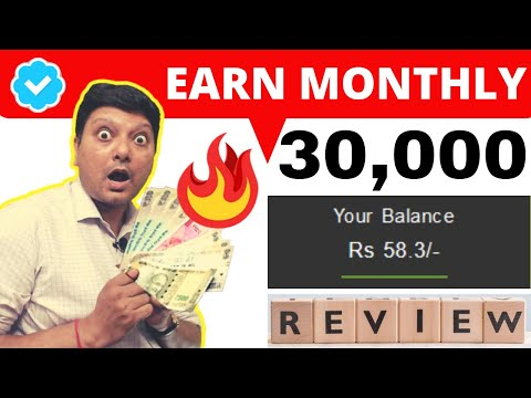 Earn 30,000 A Month Working on Indian Earning Website   Is This Real Make Money Online Tutorial