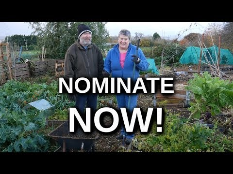 NOMINATE Your BEST UK Small Gardening Channel (gardens and allotments)