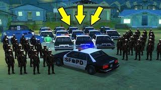 Вот что будет, если Сиджей станет Полицейским в GTA San Andreas...😱