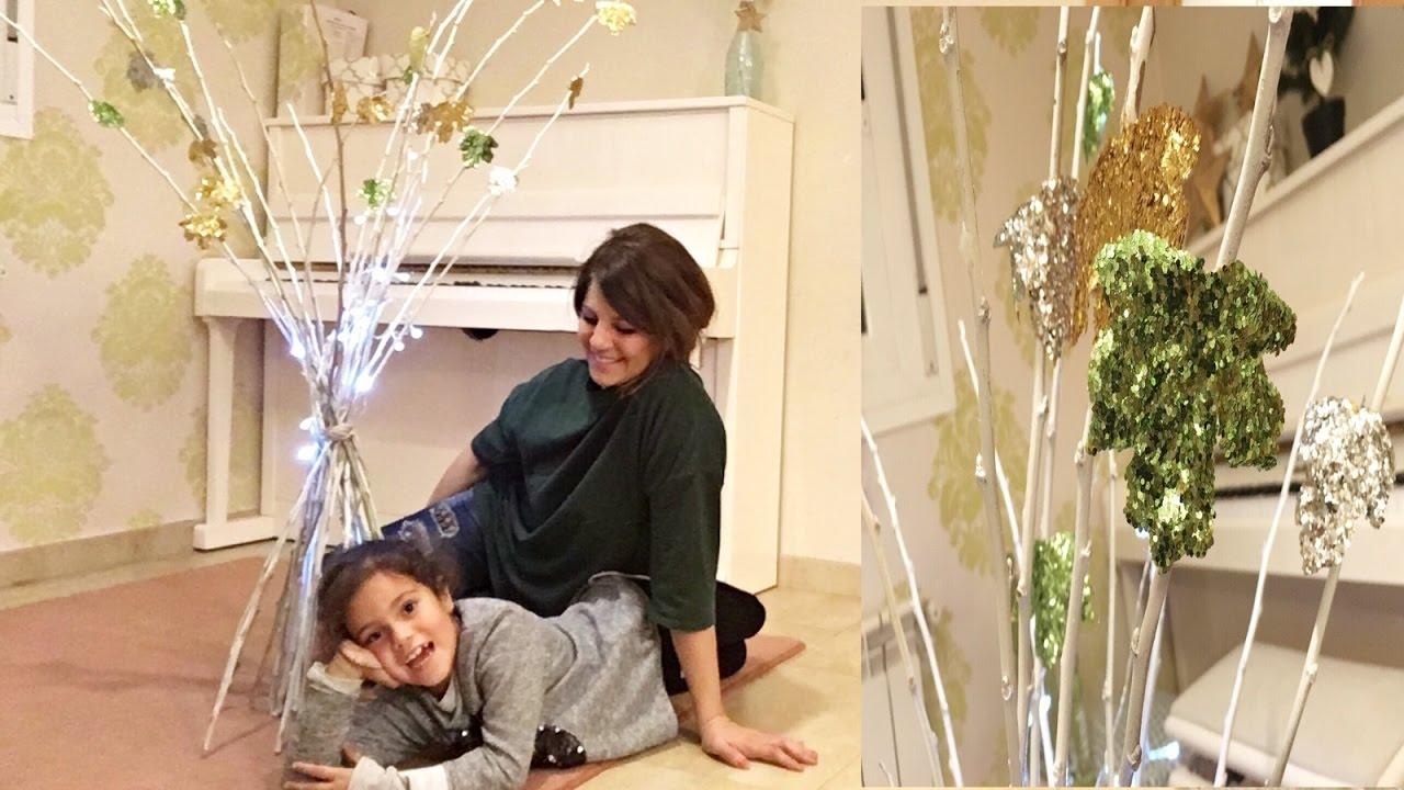 Haz un árbol ARBOL DE NAVIDAD CON...../DIY Adornos navideños fáciles