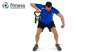 Full Length KettleBell Workout Video - Total Body Kettlebell Routine by FitnessBlender