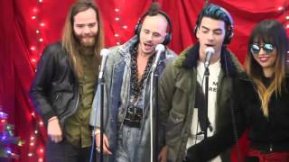 "DNCE Sing ""Santa Claus is Coming to Town"" 