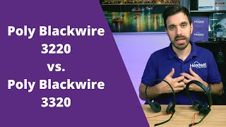 Poly Blackwire 3220 Vs. Poly Blackwire 3320 -With Mic Test!