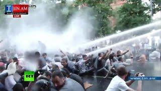 В Ереване после митинга задержаны почти 250 человек