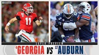 No. 4 Georgia vs. No. 12 Auburn: SUPER PREVIEW | CBS Sports HQ