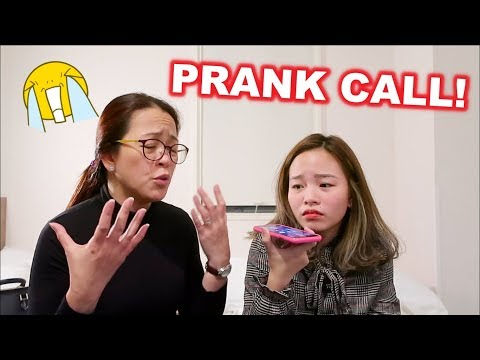 PRANK CALLING OUR RELATIVES! GRABE TO!| Haidee and Hazel
