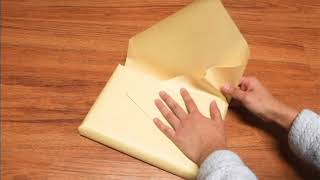 Japanese Gift Wrapping Tutorial