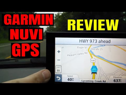 Garmin nuvi GPS 2557LMT Advanced Series Review