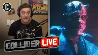 Peter Serafinowicz Tells the Story of How He Was Cut Out as Darth Maul in Solo