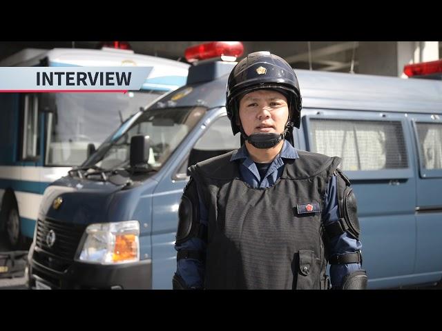 鹿児島県警察職員募集動画 ~警備警察編~