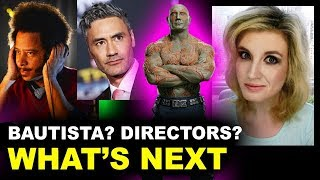 Guardians of the Galaxy 3 - Directors, Bautista to Quit, Gunn's Script?!
