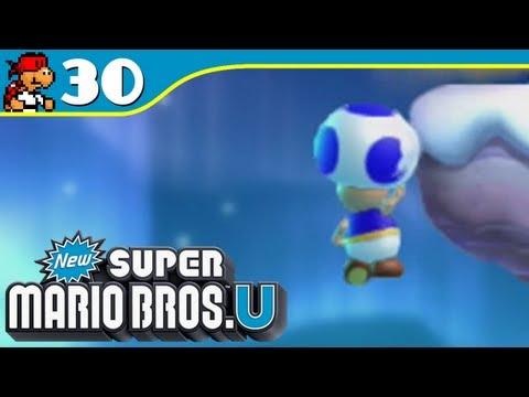 New Super Mario Bros U: Infinite Lives - Frosted Glacier 4