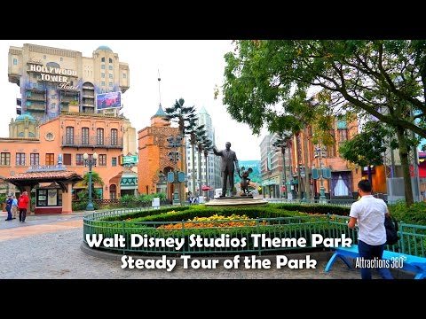 [Tour] Walt Disney Studios Theme Park Steady Tour at Disneyland Paris 2016