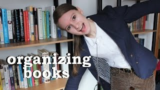 How I Organize and Catalog My Books