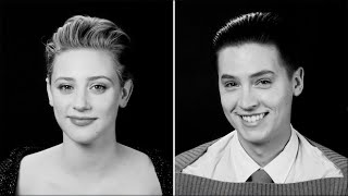 Cole Sprouse and Lili Reinhart Tell the Stories Of Their First Kisses   Screen Test   W Magazine