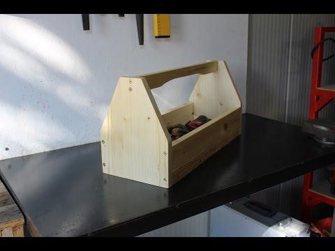 cassetta porta attrezzi fai da te (homemade toolbox)